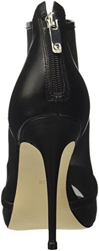 Guess Footwear Dress Shootie, Scarpe Col Tacco Punta Aperta Donna nero