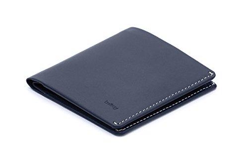 Bellroy Note Sleeve Leather Wallet, Blue Steel