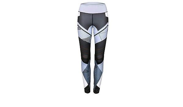 45c427a672c8f2 Amazon.com: Red Dragon Leggings Women's Cross - spliced/Sporty Legging -  Striped Print Mid Waist/Sporty Look/Skinny: Clothing