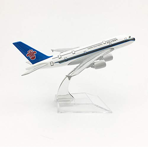 - Marreto 1/400 Scale Alloy Aircraft Airbus A380 China Southern Airlines 16Cm Alloy Plane Model Toys Children Kids Gift for Collection