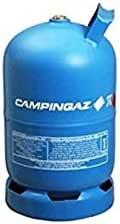 Bombona completa Campinga, art. 909 con 5,70 kg de gas hidráulico para caravana y camping