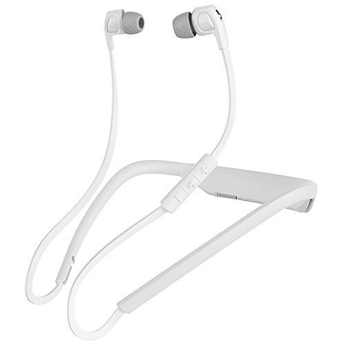 - Skullcandy Smokin' Buds 2 In-Ear Bluetooth Wireless Earbuds with Microphone, White