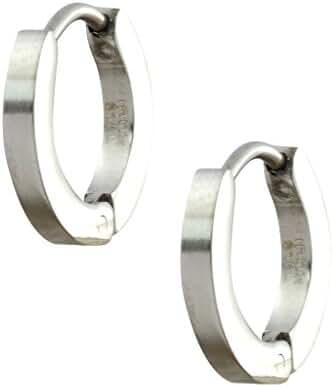 INOX 316L Stainless Steel Huggie Hoop Earrings