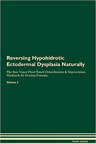 Amazon com: Reversing Hypohidrotic Ectodermal Dysplasia