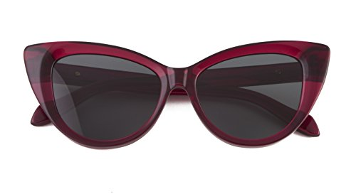Sonix Women's Kyoto Sunglasses, Crimson/Black Fade, One - Eyewear Kyoto