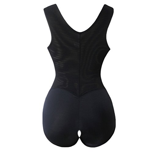 AVENBER with Zipper Adjustable Wide Straps Open Crotch Butt Lifting Slimming Underwear