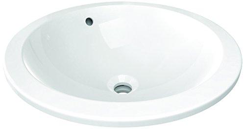 Ideal Standard E505401 Connect vasque sphere a enc 48 ss tp blc Blanc