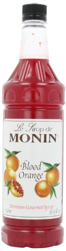 - Monin Flavored Syrup, Blood Orange, 33.8-Ounce Plastic Bottles (Pack of 4)