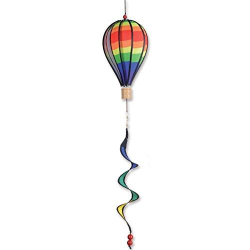Premier Kites 12 in. Hot Air Balloon - Classic Rainbow