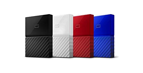 Western Digital 1TB Black My Passport Portable External Hard Drive - USB 3.0 - WDBYNN0010BBK-WESN