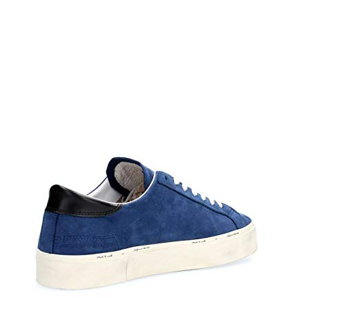 Double D Blue Uomo e Blu Hill Beach t 28708 Sneakers Scarpa Nabuk a In xTx6rX