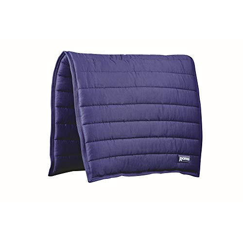 Roma Comfort Dressage Saddle Pad (One Size) (Navy)