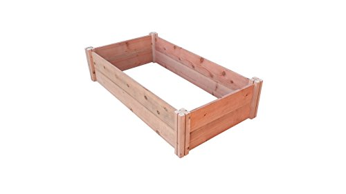 - GroGardens 2' x 4' x 11 Redwood Raised Garden Bed, Grow Fresh Vegetables, Herbs, Flowers. Chemical Free, All Natural, Organic Raised Garden Bed, Tool-Free, No Tools Required.