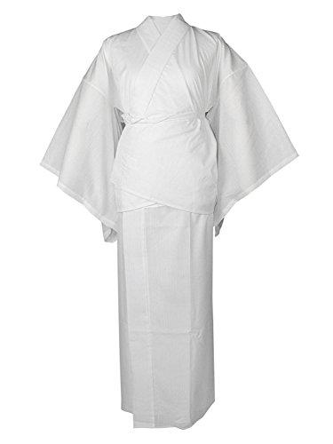 KYOETSU Women's TORAY Japanese Summer Juban 2 Parts Underwear Bamboo Fiber Soutake (Large) by KYOETSU