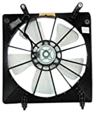 honda accord fan - TYC 600060 Honda Accord Replacement Radiator Cooling Fan Assembly