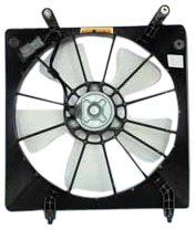 TYC 600060 Honda Accord Replacement Radiator Cooling Fan Assembly