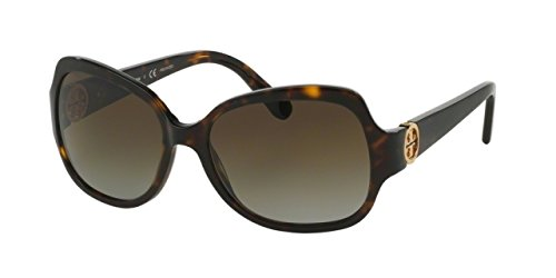 Tory Burch Women's Sunglasses TY7059 57mm Dark Tortoise 1378T5