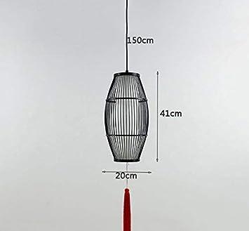 GCCI las lámparas de bambú, lámparas de Techo suspendido ...