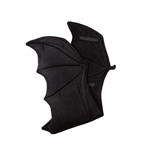 Wildlife Tree Plush Black Bat Wings for Kids Bat Costume, Dragon Costume, Cosplay and Pretend -