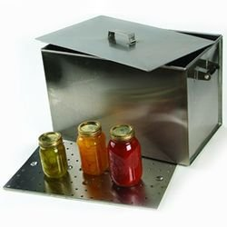 Stainless Steel Canner with Rack, 24 Guage #304 Stainless