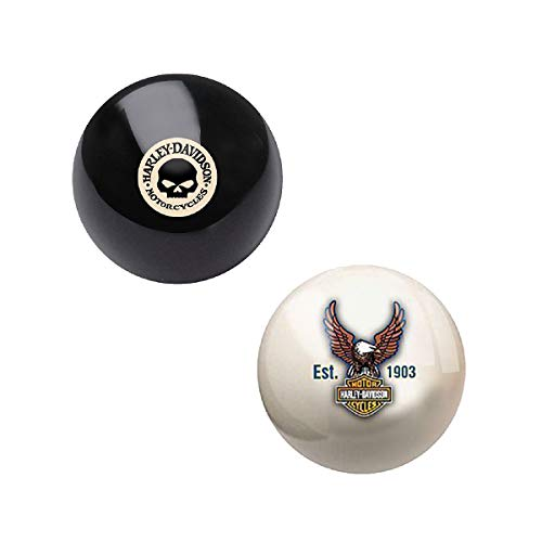 Harley-Davidson Pool Cue Ball and 8 Ball - Package of 2 ()