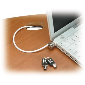 Kensington Slim MicroSaver - Security cable - black - 6 ft