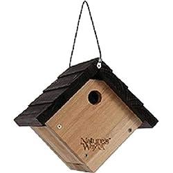 "Nature's Way Bird Products CWH1 Cedar Wren House, 8"" x 8.875"" x 8.125"""
