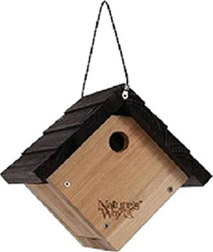 Nature's Way Bird Products CWH1 Cedar Wren House, 8