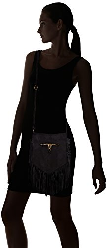Borse bandoulière Chicca Noir sac 1518 Black Black rwq8zdqxF1