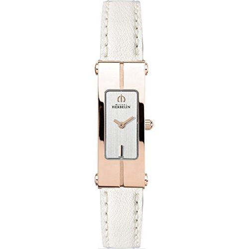 Lady's Watch - Michel Herbelin - Newport Lingot - Sapphire Crystal - 1055/PR12BLA
