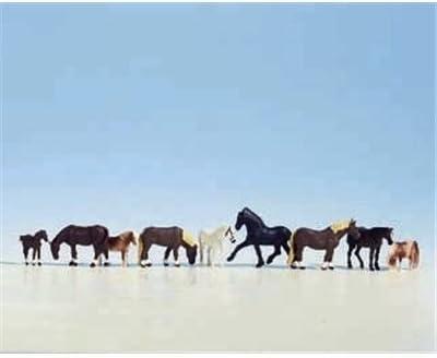 Noch 36761 Horses 9// N Scale Figures