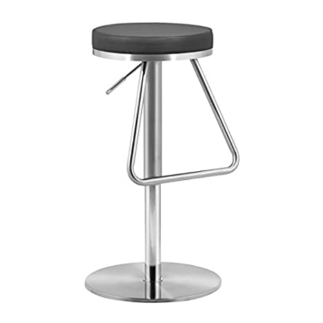 Fine Zuo Soda Barstool Black Creativecarmelina Interior Chair Design Creativecarmelinacom