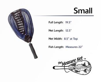 Measure net - Small nylon net - Fly Fishing Measure Net