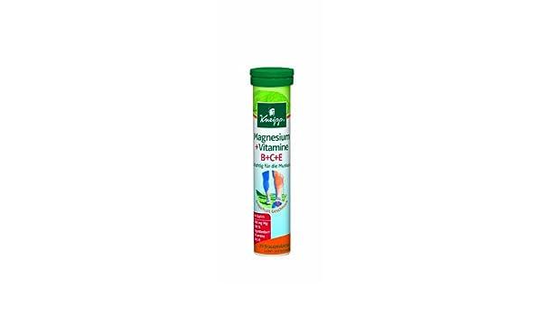 Amazon.com: Kneipp Magnesium + Vitamine B+C+E Brausetabletten 20 pcs: Health & Personal Care