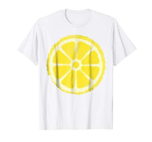 Adult Lemon Costumes - Yellow Lemon Costume Shirt - Matching