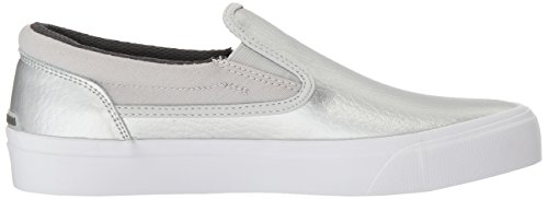 DC Women's Trase Slip-on SE Skateboarding Shoe, Silver, 8.5 B US by DC (Image #7)