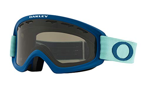 Oakley O Frame XS 2.0 Youth Snow Goggles Arctic Surf Poseidon with Dark Grey Lens (Youth Ski Goggles Oakley)
