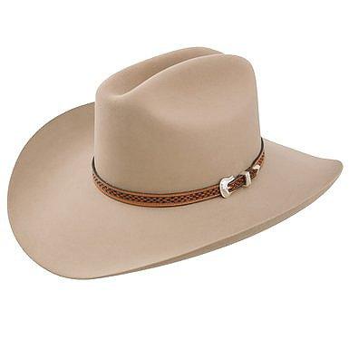Stetson Marshall - 4x Wool Cowboy Hat (7 1/4, Ranch Tan)