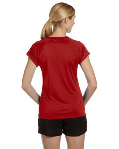 Champion CW23 Women's Double Dry Performance T-Shirt 2XL Scarlet