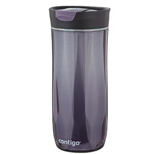Contigo SnapSeal Double-Wall Plastic Travel Mug, 16-Ounce, Violet
