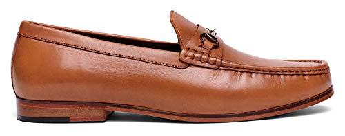 7b03e373f27 Anthony Veer Men s FILMORE Classic Bit Loafers Leather Slip-on Luxury  Comfort