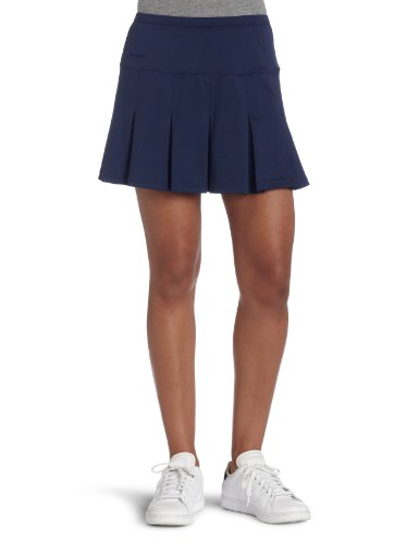 - bollé Women's Essential Multi-Pleat Tennis Skirt, Essential Navy, Medium