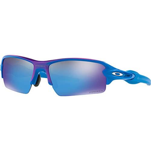 Oakley Men's Flak 2.0 Asian Fit Sunglasses,OS,Factory Fade/Prizm Sapphire