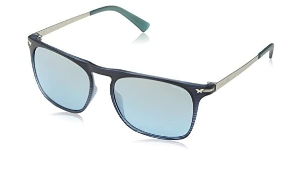 Police S195654G32M Gafas de Sol, Azul, 54 para Hombre