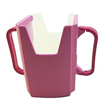 TOOGOO(R) Baby Child Universal Juice Pouch Milk Box Holder Cup Toddler Self-Helper pink