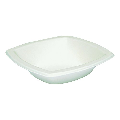 SOLO 12BSC-2050 Bare Eco-Forward Bagasse Paper Bowl, 12 oz. Capacity, 6″ x 1.4″, Ivory (Case of 1,000)