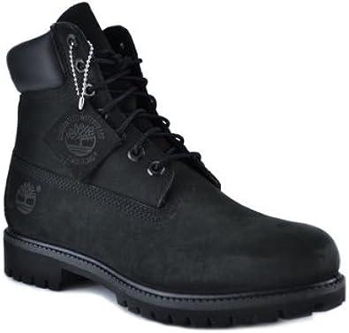 Timberland Men's 6 Inch Basic Waterproof Boots Black 10073