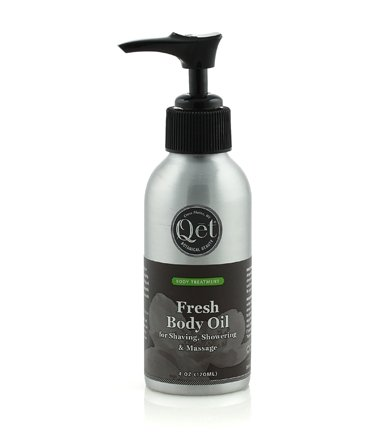 Fresh Body Oil for Shaving, Showering & Massage