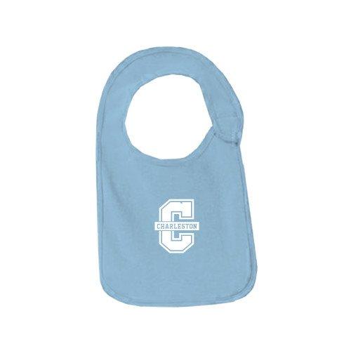 College of Charleston Light Blue Baby Bib 'Official Logo - C Charleston'