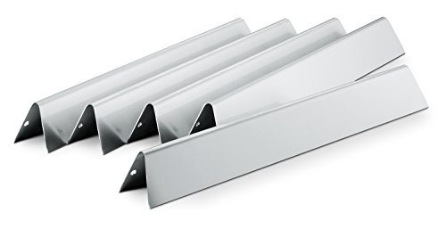 Weber 7620 Gas Grill Stainless Steel Flavorizer Bar Set for 300 Series Gas Grills (17.5 x 2.25 x ()